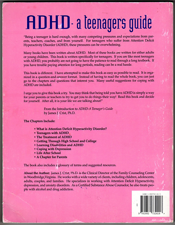 Image 1 of ADHD: A Teenager's Guide