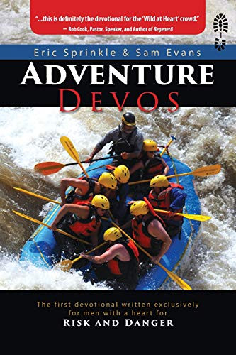Image 0 of Adventure Devos: The first devotional written exclusively for men with a heart f