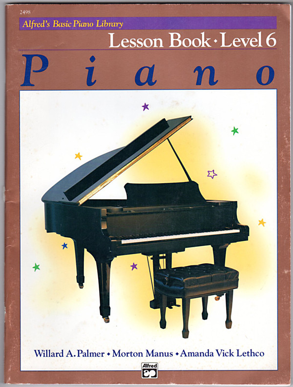 Image 0 of Alfred's Basic Piano Library Lesson Book, Bk 6
