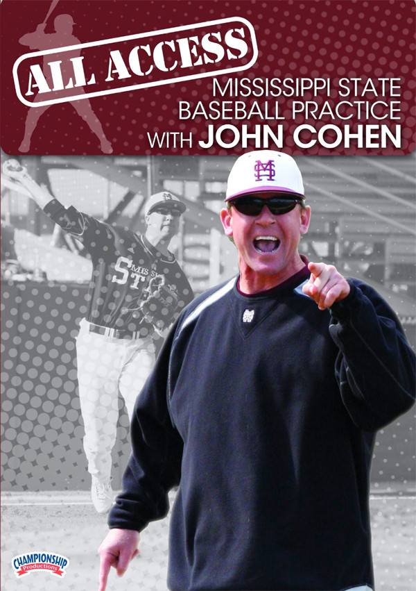Image 0 of John Cohen: All Access Mississippi State Baseball Practice (DVD)