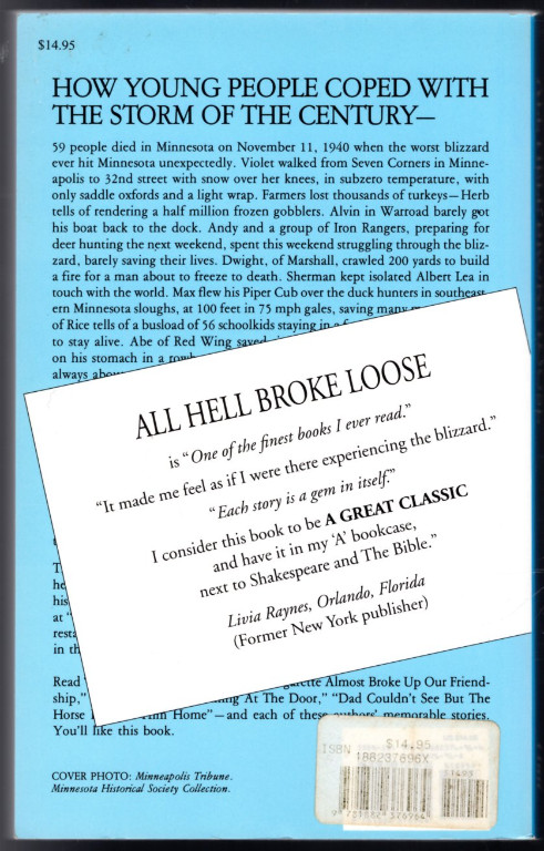 Image 1 of All Hell Broke Loose: Experiences of Young People During the Armistice Day 1940