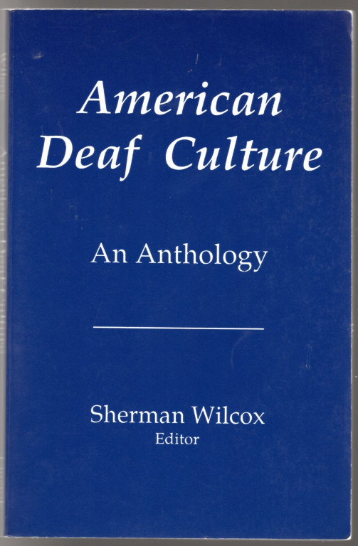 Image 0 of American Deaf Culture: An Anthology