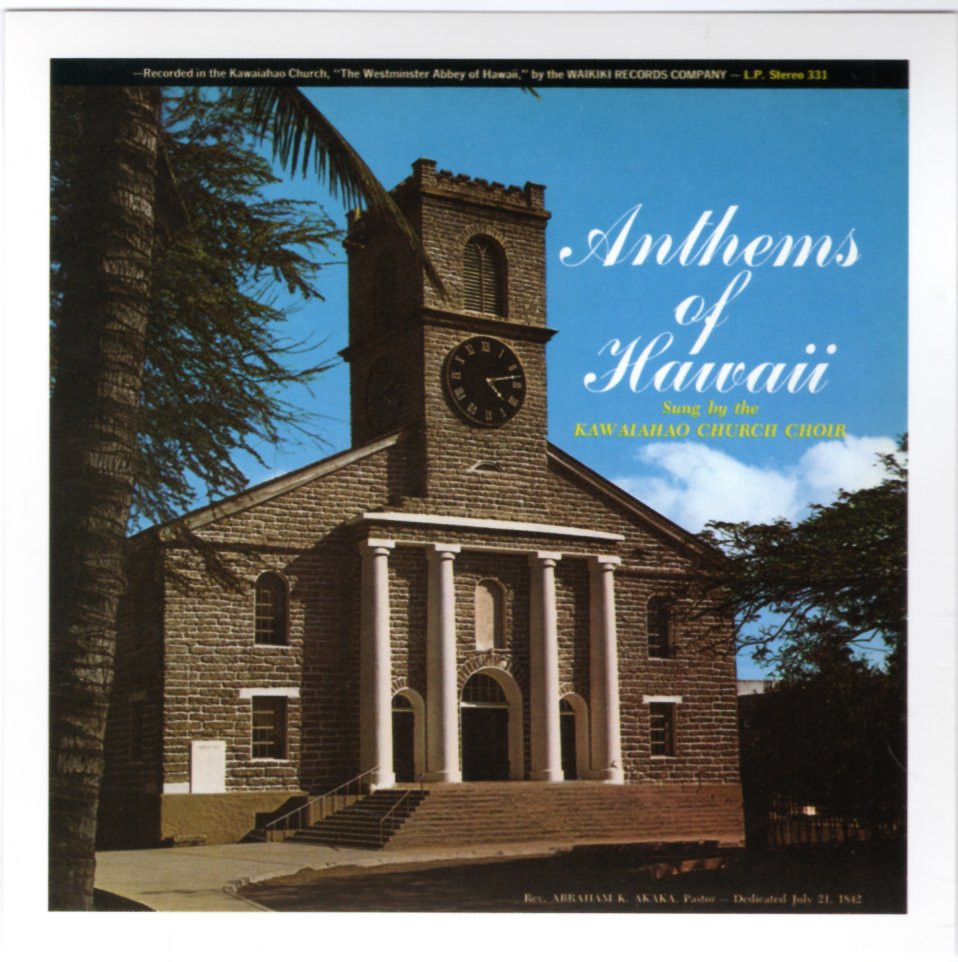 Image 0 of Anthems of Hawaii