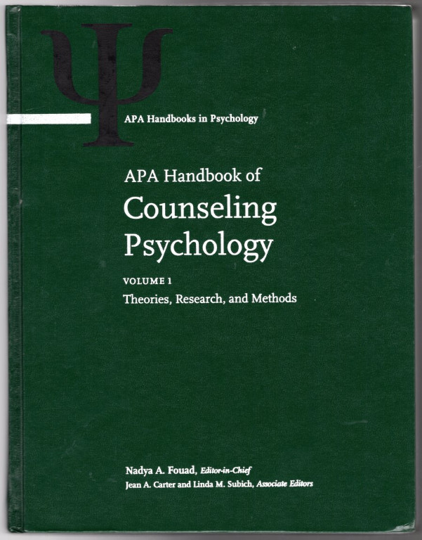 Image 0 of APA Handbook of Counseling Psychology 2 Vol Set (APA Handbooks in Psychology)