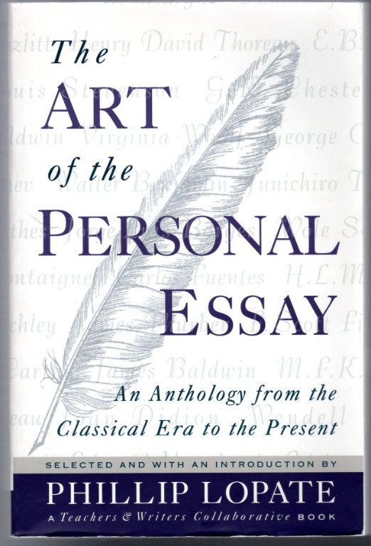 Image 0 of The Art of the Personal Essay: An Anthology from the Classical Era to the Presen