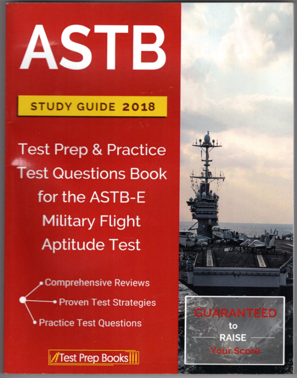 Image 0 of ASTB Study Guide 2018: Test Prep & Practice Test Questions Book for the ASTB-E M