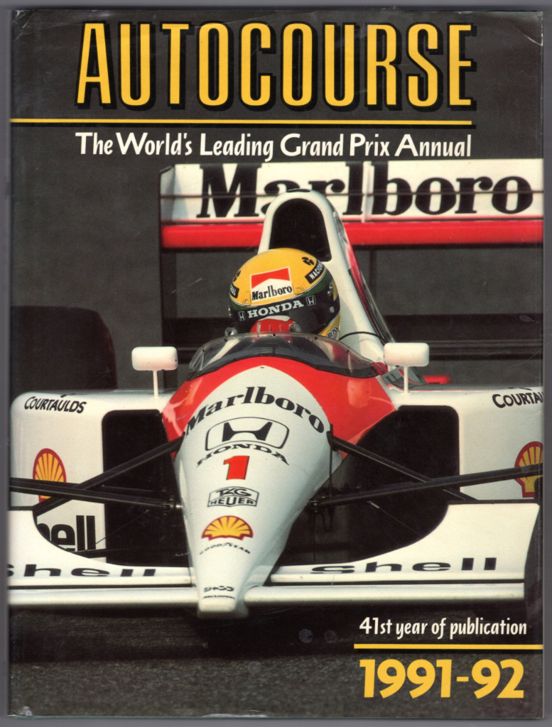 Image 0 of Autocourse: The World's Leading Grand Prix Annual, 1991-92