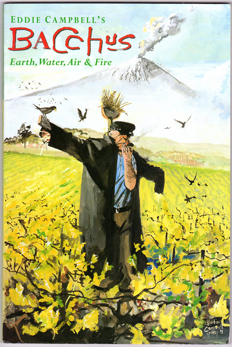Image 0 of Eddie Campbell's Bacchus, Book Five: Earth, Water, Air and Fire (Book 5)