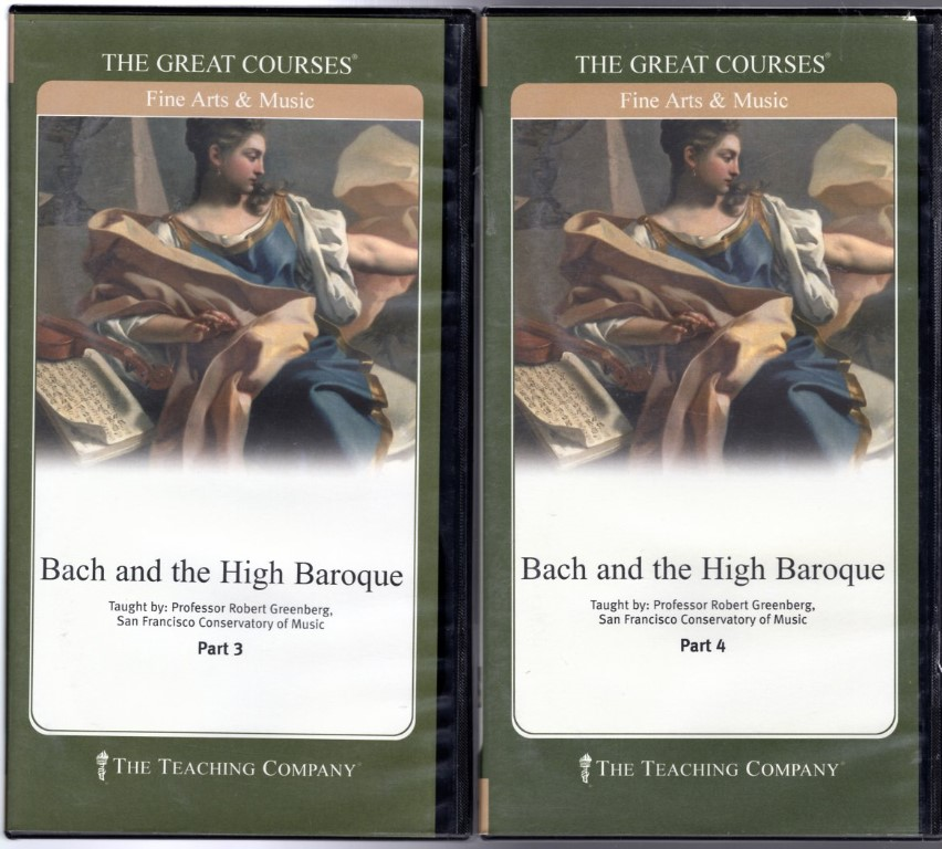 Image 1 of Great Courses: Bach and the High Baroque