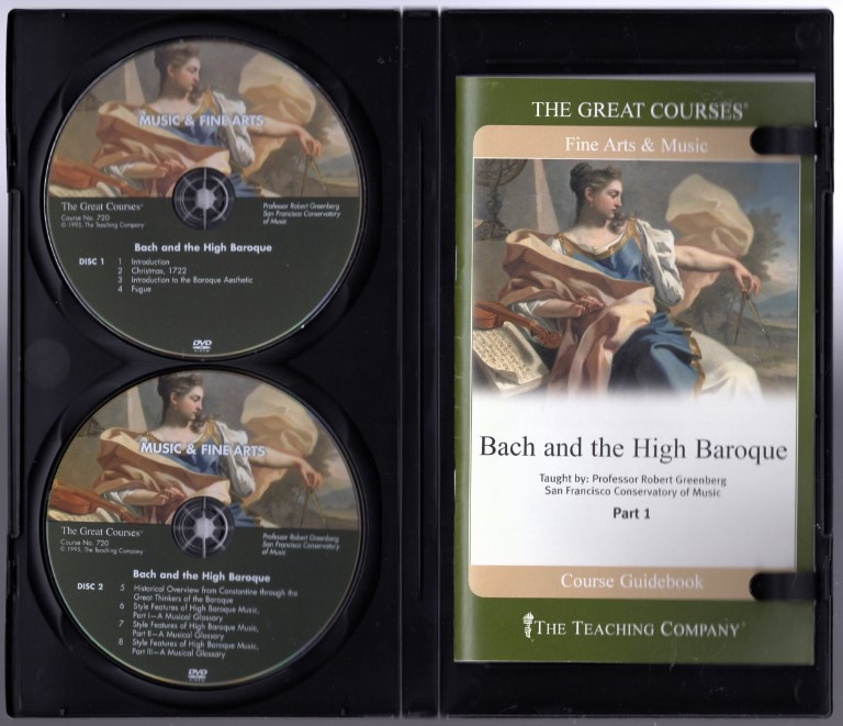 Image 2 of Great Courses: Bach and the High Baroque