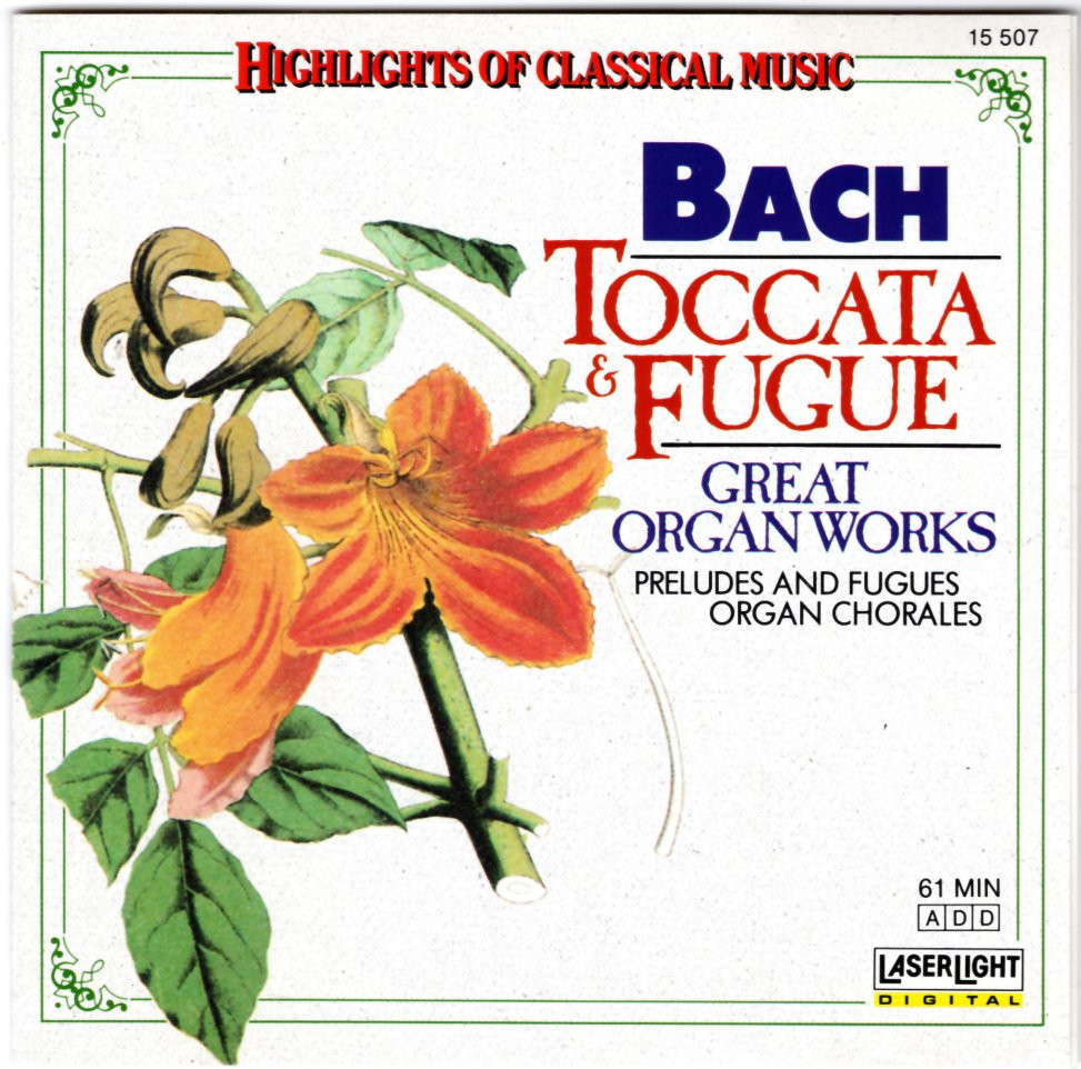 Image 0 of Bach: Toccata & Fugue, Great Organ Works