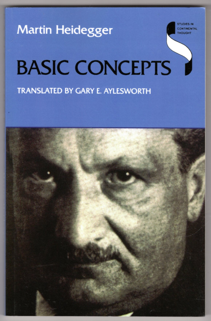 Image 0 of Basic Concepts (Studies in Continental Thought)