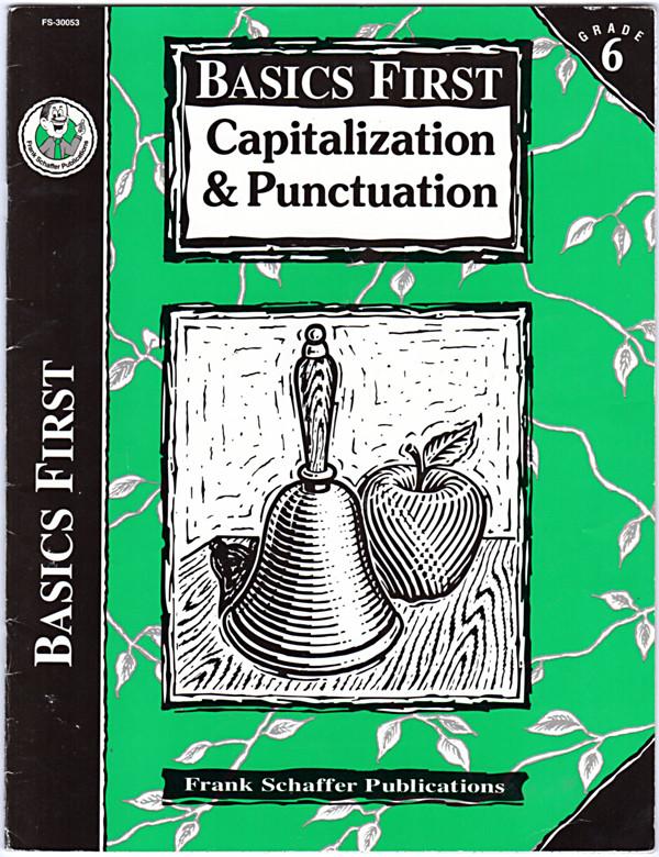 Image 0 of Basics First, Capitalization & Puncutation Grade 6