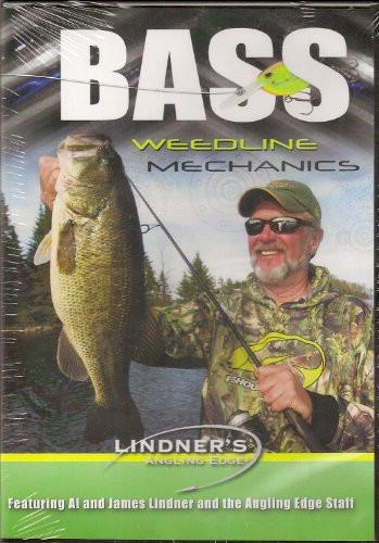 Image 0 of Bass Weedline Mechanics ~ Lindner Fishing DVD NEW Jigging Largemouth Weed Facts
