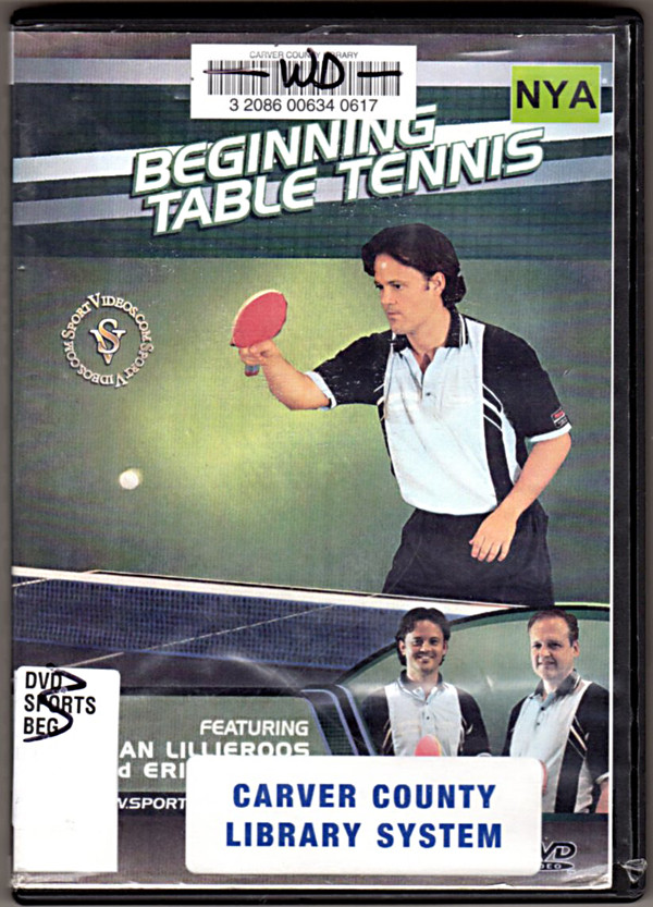 Image 0 of Beginning Table Tennis featuring Coach Christian Lillieroos and Eric Owens