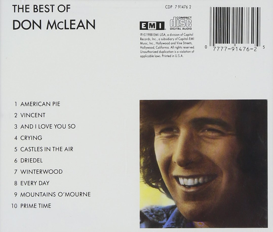 Image 1 of Best of Don McLean
