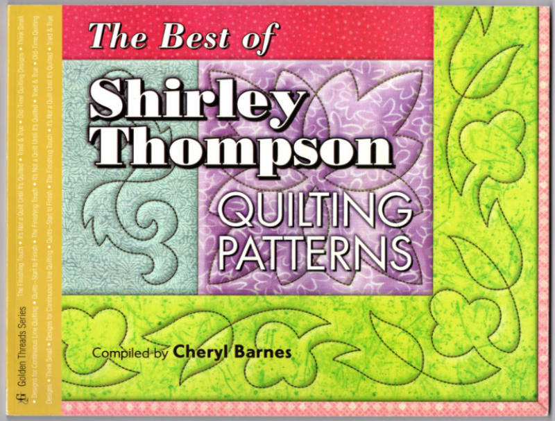Image 0 of Best of Shirley Thompson: Quilting Patterns (Golden Threads Series)