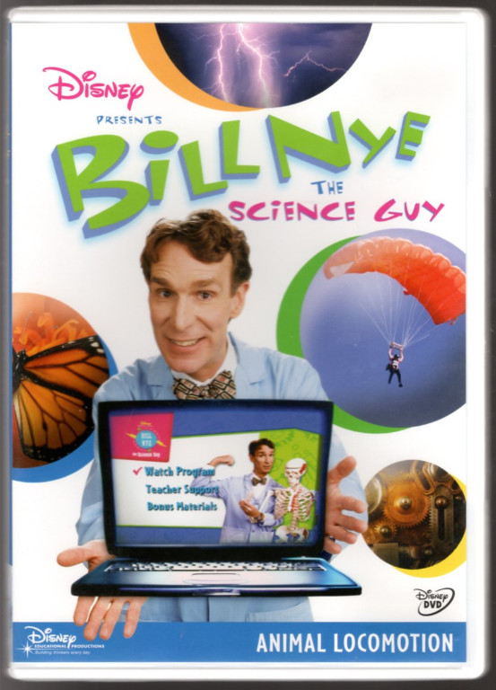Image 0 of Bill Nye the Science Guy: Animal Locomotion Classroom Edition [Interactive DVD]