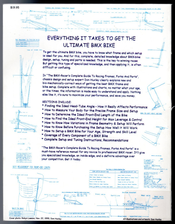 Image 1 of The BMX-Racer's Complete Guide to racing frames, forks and parts