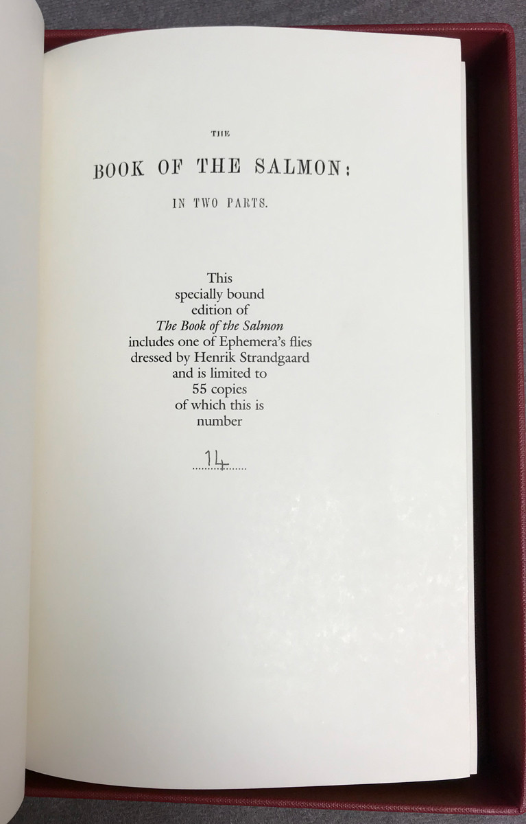 Image 3 of The Book of the Salmon, in two parts