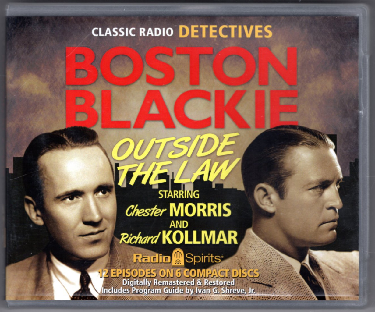 Image 0 of Boston Blackie:Outside the Law (Old Time Radio)