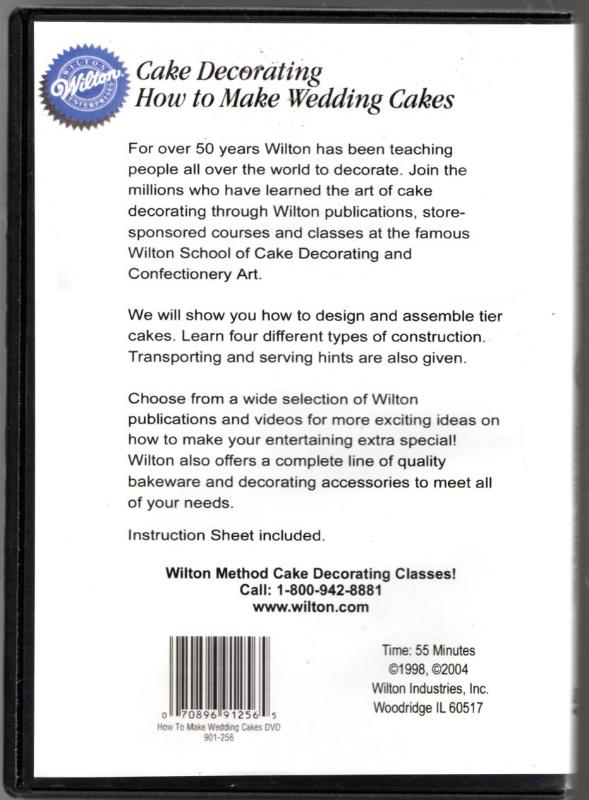 Image 1 of Wilton How to Make Wedding Cakes