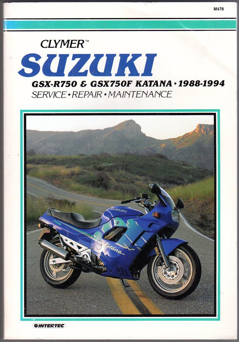 Image 0 of Clymer Suzuki Gsx-R750 & Gsx750F Katana 1988-1994 (M478)