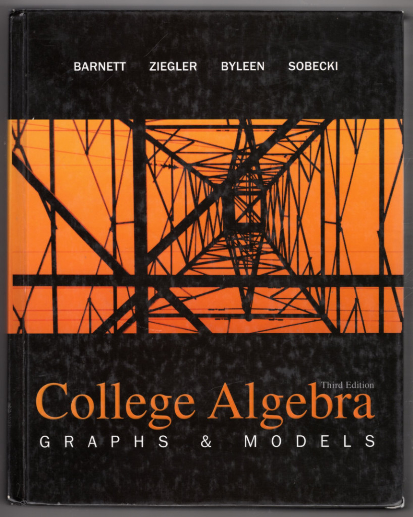Image 0 of College Algebra: Graphs and Models