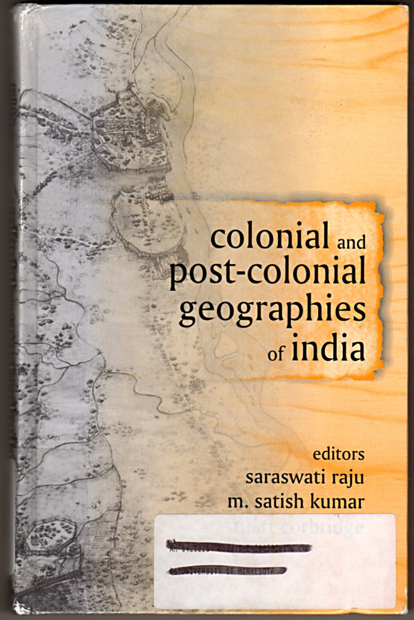 Image 0 of Colonial and Post-Colonial Geographies of India