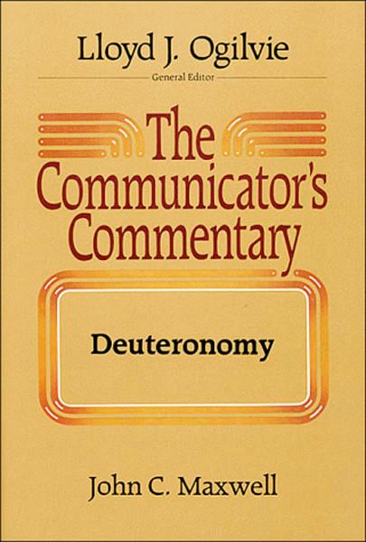 Image 0 of The Communicator's Commentary: Deuteronomy