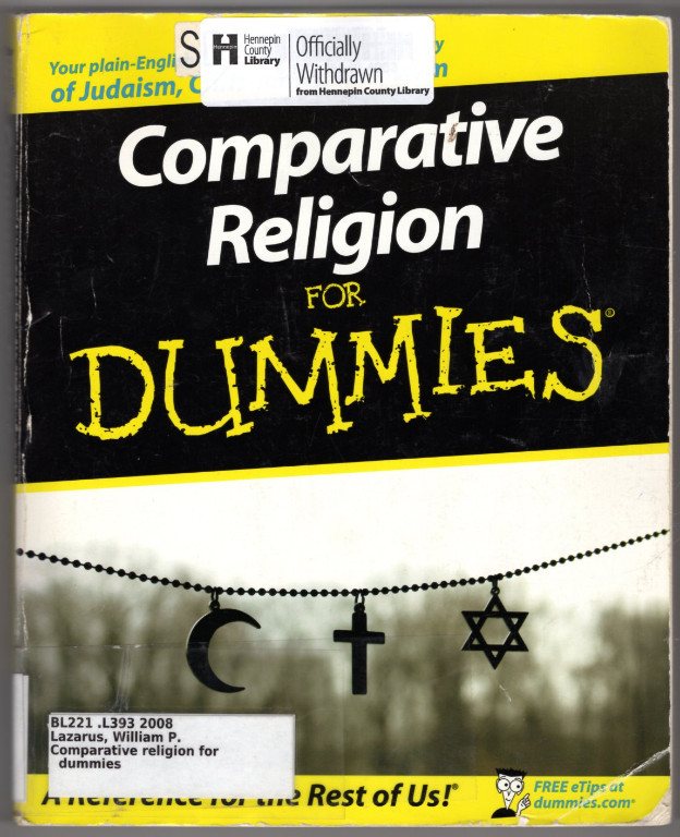 Image 0 of Comparative Religion For Dummies