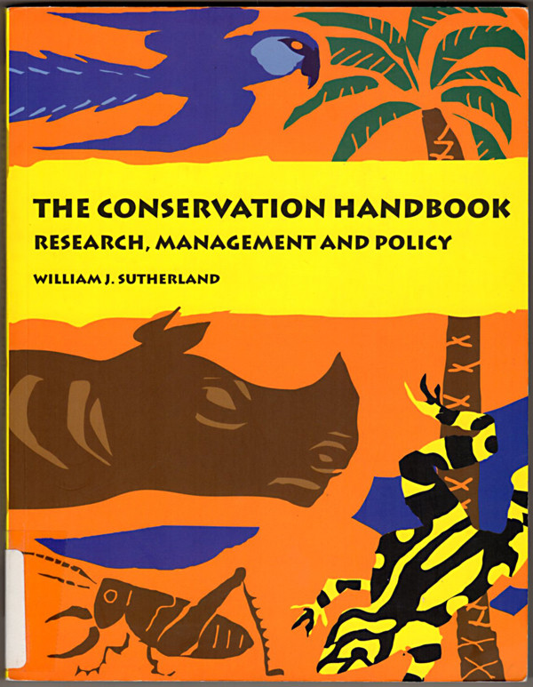 Image 0 of The Conservation Handbook: Research, Management and Policy