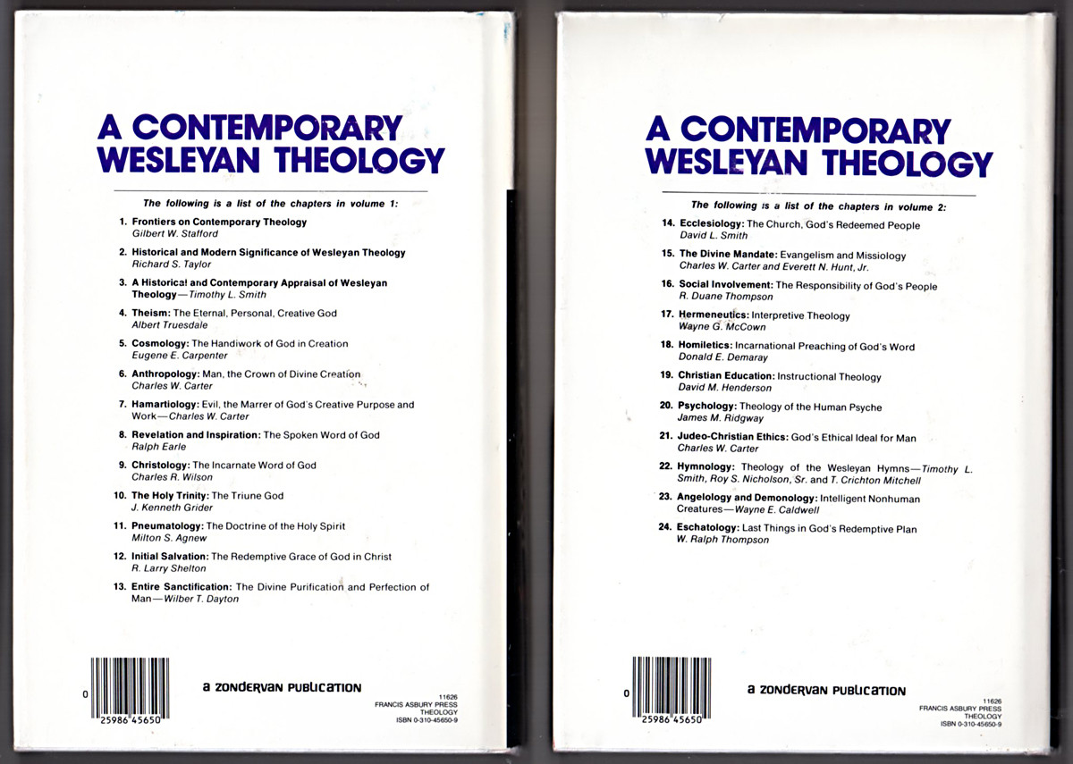 Image 1 of A Contemporary Wesleyan Theology: Biblical, Systematic, and Practical
