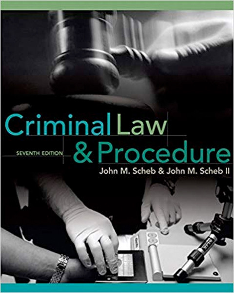 Image 0 of Criminal Law and Procedure