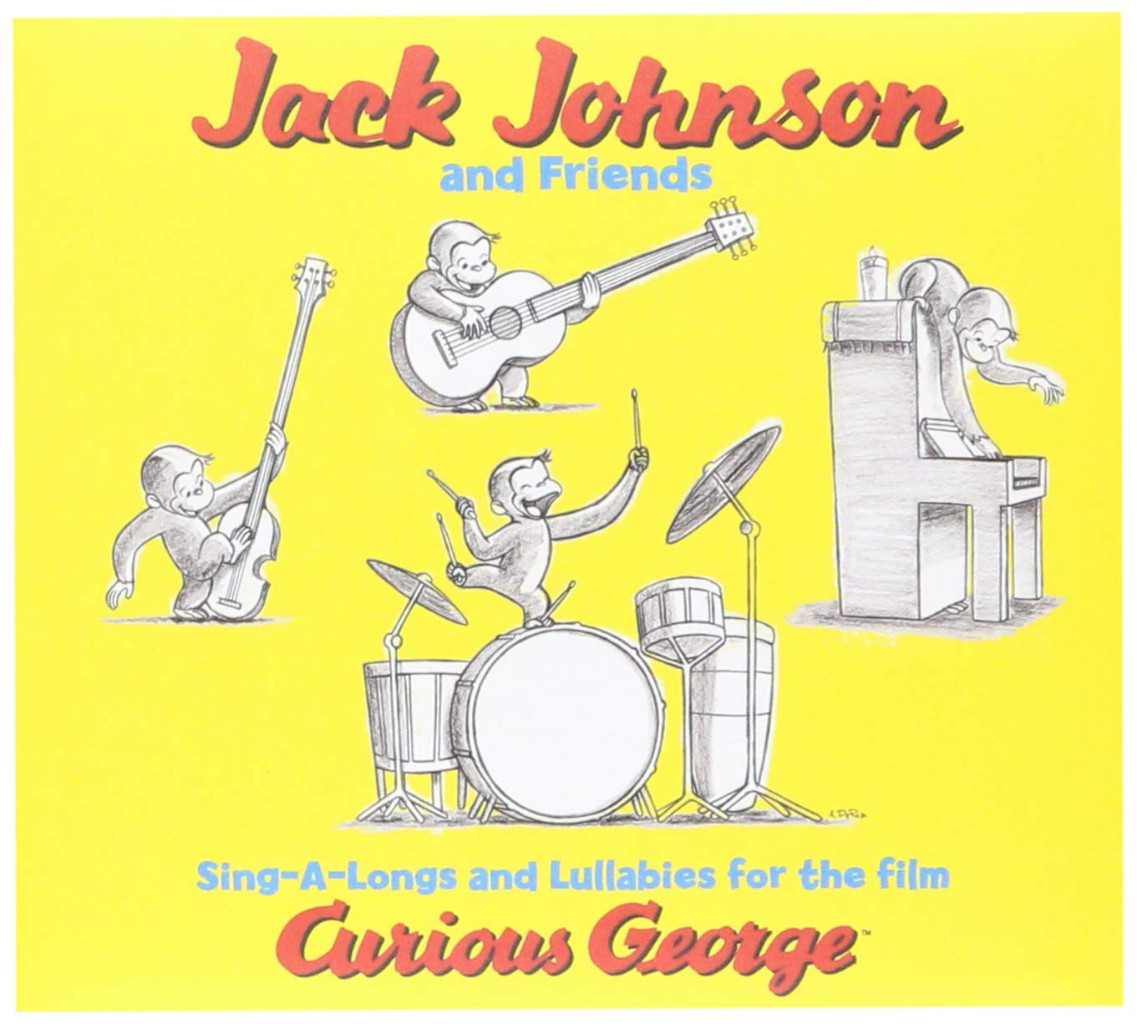 Image 0 of Sing-A-Longs and Lullabies for the Film Curious George