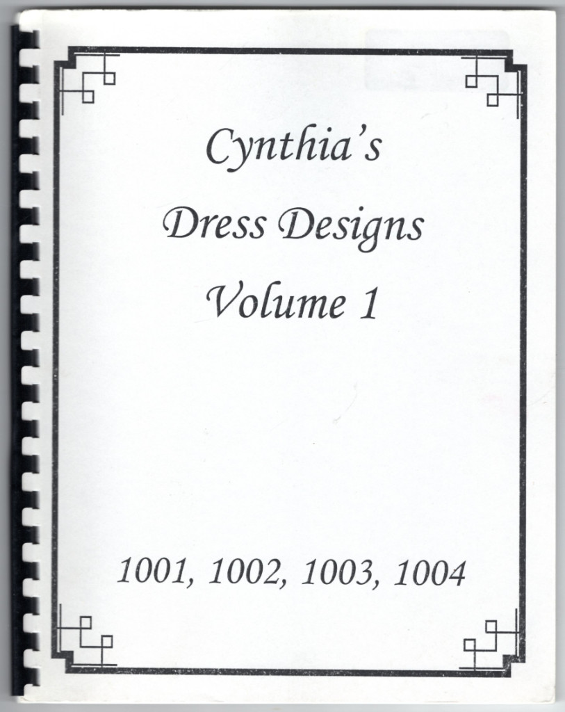 Image 0 of Cynthia's Dress Designs (1001, 1002, 1003, 1004, Volume 1)