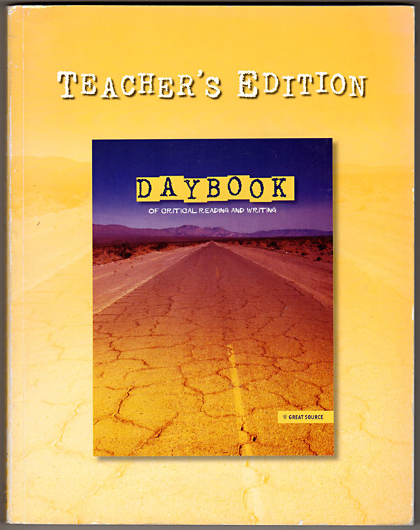 Image 0 of Daybook of Critical Reading and Writing, Teacher's Edition Grade 6