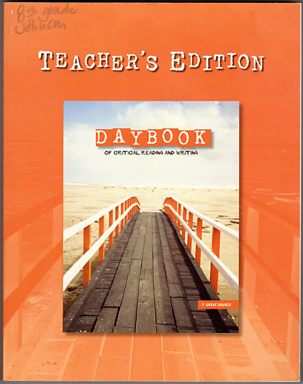 Image 0 of Daybook of Critical Reading and Writing, Teacher's Edition