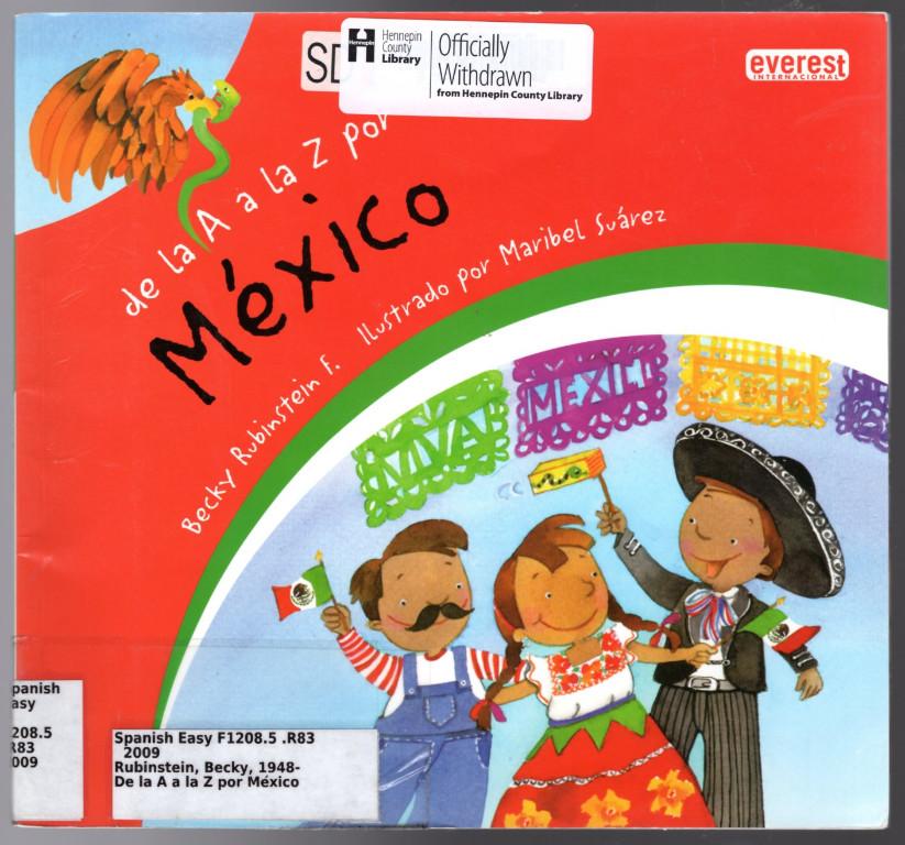 Image 0 of De la A a la Z por Mexico / From A to Z in Mexico (Mexicana) (Spanish Edition)