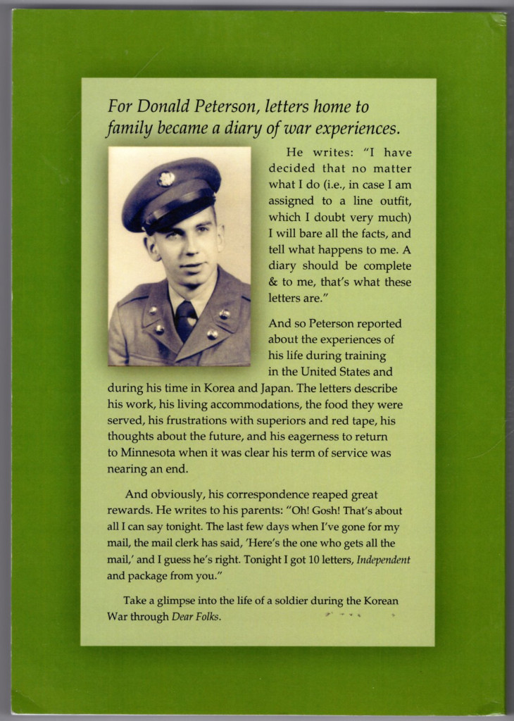 Image 1 of Dear Folks: A Compilation of Letters Written By a Soldier to His Family at Home