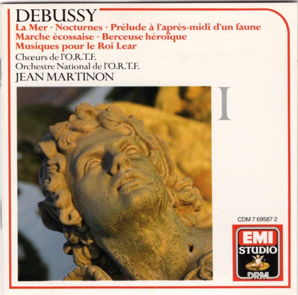 Image 0 of Debussy: Complete Orchestral Works 1 (La Mer, Nocturnes, Prelude a L'apres-midi