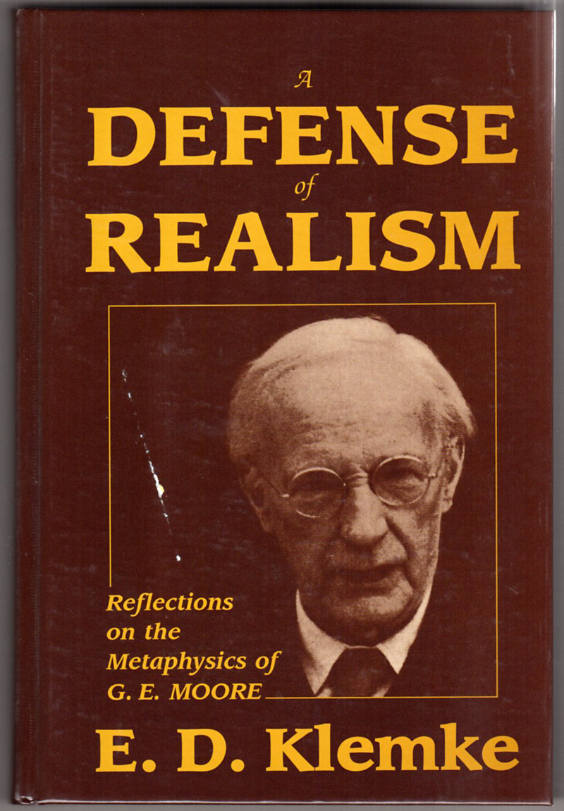 Image 0 of A Defense of Realism: Reflections on the Metaphysics of G. E. Moore