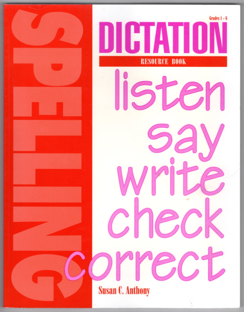 Image 0 of Dictation Resource Book