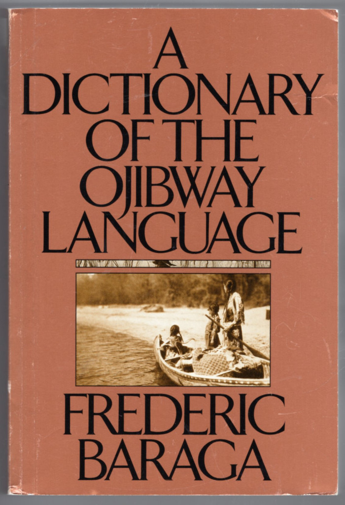 Image 0 of A Dictionary of the Ojibway Language (Borealis Books)