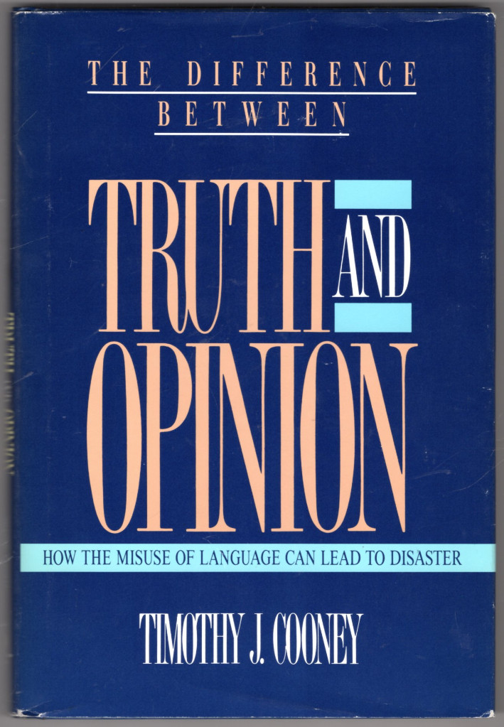 Image 0 of The Difference Between Truth and Opinion