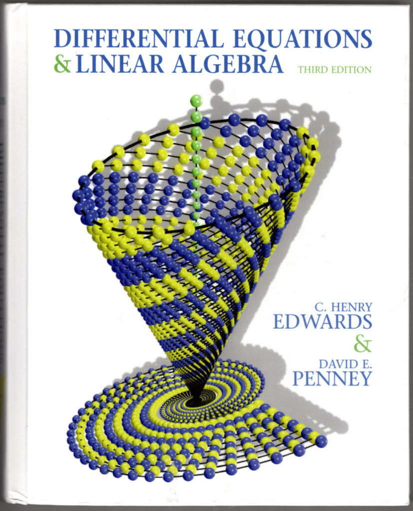 Image 0 of Differential Equations and Linear Algebra and Student Solutions Manual (3rd Edit