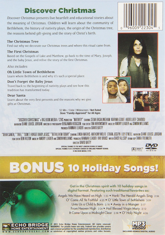 Image 1 of Discover Christmas with Bonus Holiday MP3 ~ The First Christmas / The Christmas