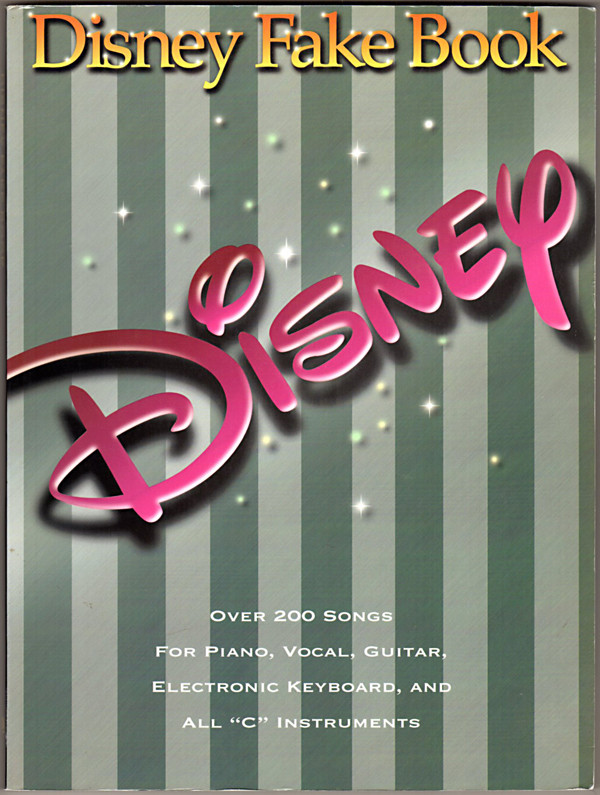 Image 0 of The Disney Fake Book: 2nd Edition