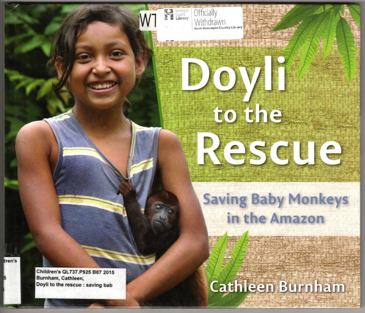 Image 0 of Doyli to the Rescue: Saving Baby Monkeys in the Amazon