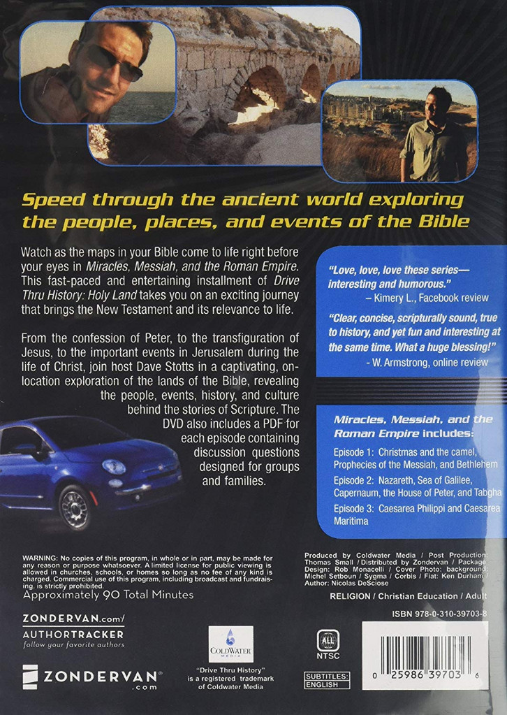 Image 1 of Drive Thru History with Dave Stotts Volume 3: Miracles, Messiah and the Roman Em